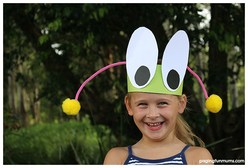 Fun Bug Craft Headband! Perfect for playgroups and classrooms!