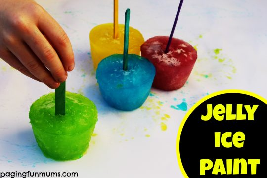 Fun Jelly Ice Paint