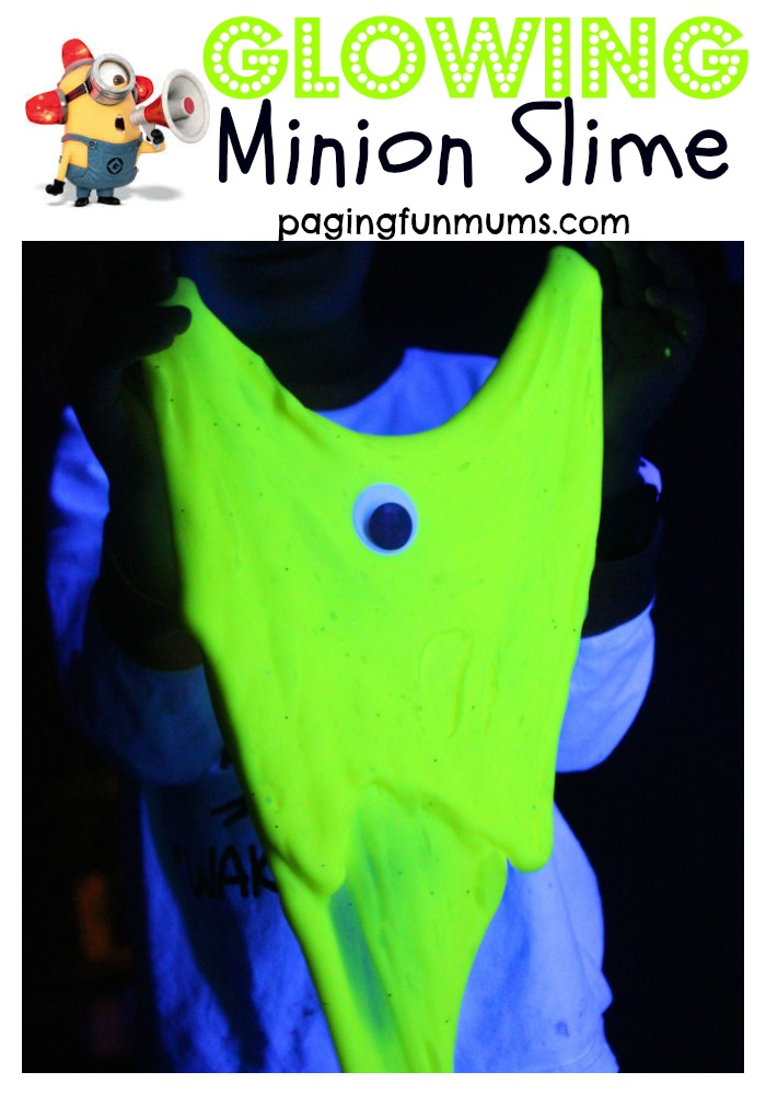 Glowing Minion Slime