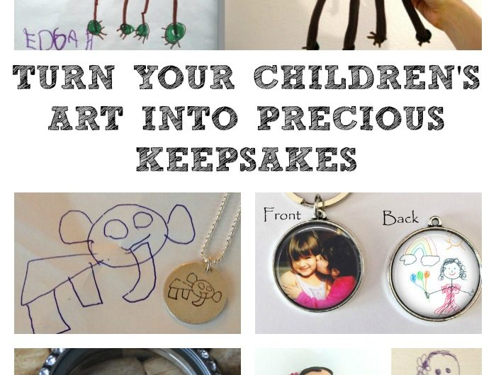 Turn Your Children's Art into Precious Keepsakes!