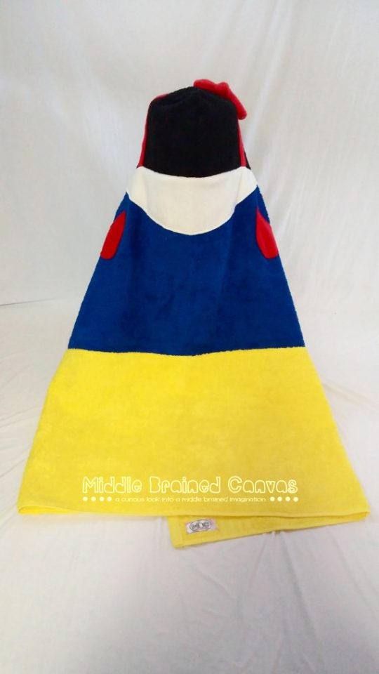 Snow White Hooded Bath Towel - such a great idea!