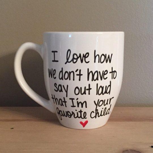 Haha! Fun Mother's day mug!