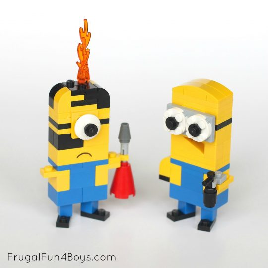 Minion Lego Instructions
