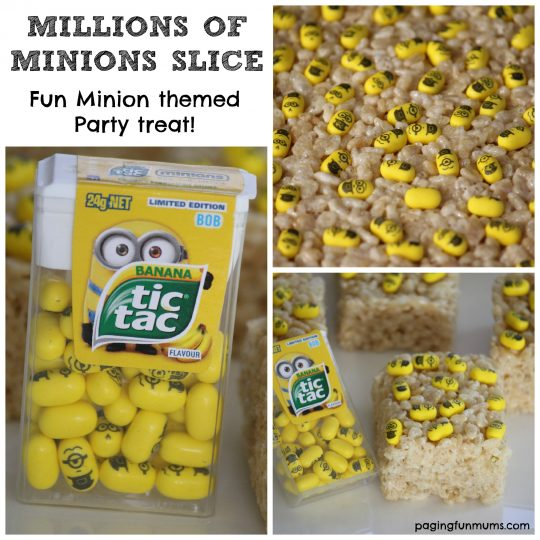 Minion Party Slice! Millions of mini Minions! So awesome!!
