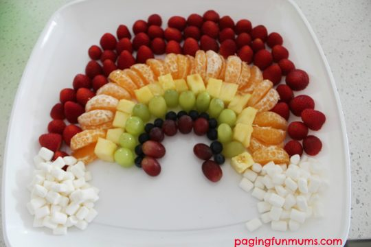My little pony fruit platter