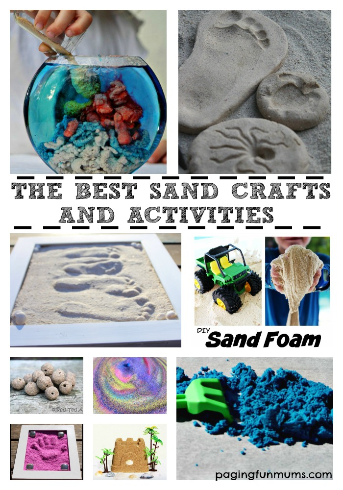 The Best Sand Crafts and Activities