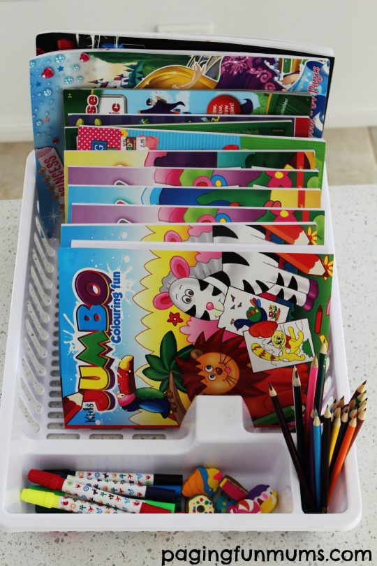 colouring book caddy hack