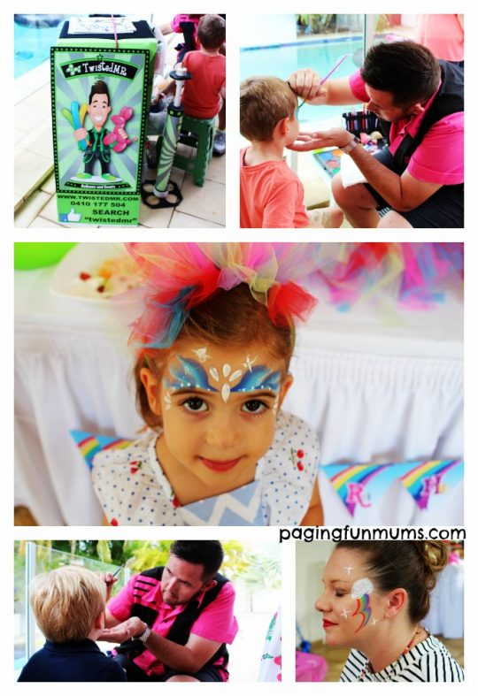 my little pony party face painter