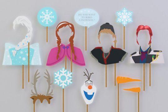 Frozen props