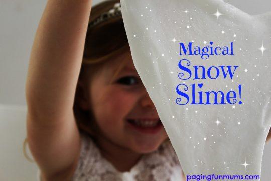 Magical Snow Slime