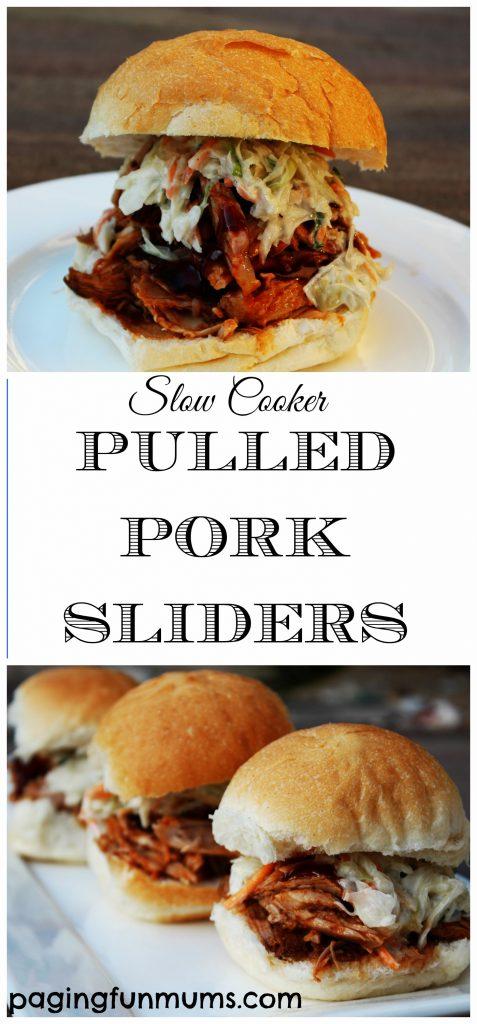 Pulled Pork Sliders - Slow Cooked