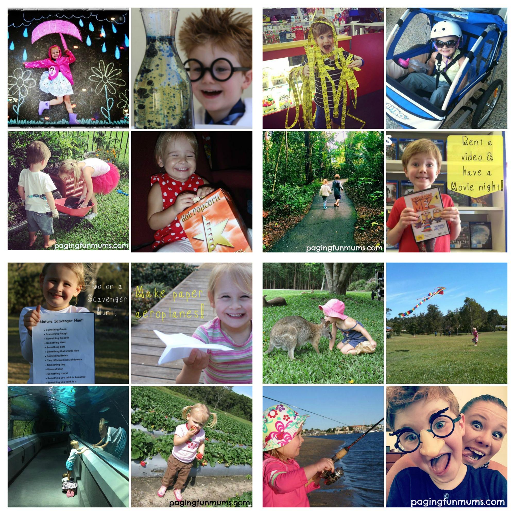 17 ways to Create Fun Family Memories