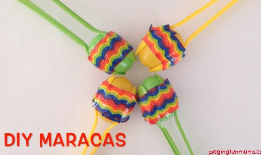 Easy DIY Maracas – Video Tutorial