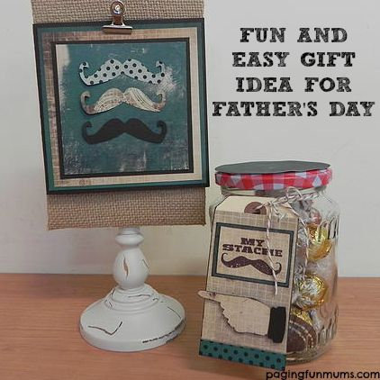 Father's Day Gift Idea - I love the 'Stache' idea!