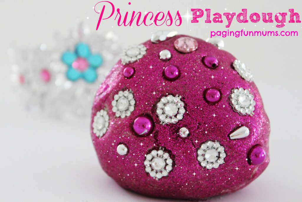 Princess Playdough - fun for every girl