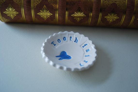 Teeny Tooth Fairy Dish