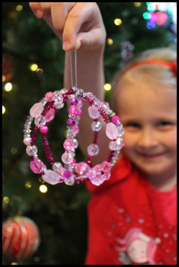 Beaded Christmas Bauble
