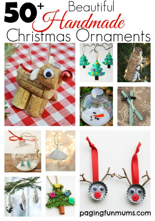 Beautiful Handmade Christmas Ornaments
