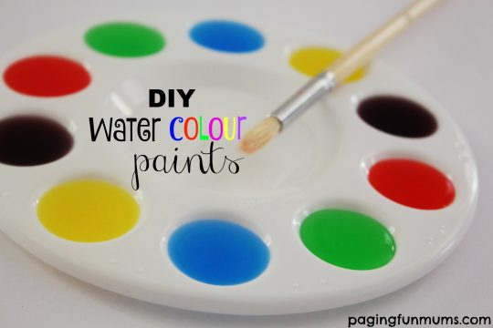 DIY water-colour-paints