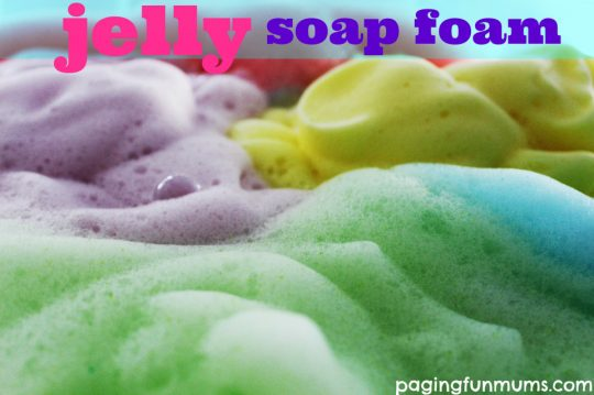 jelly-soap-foam