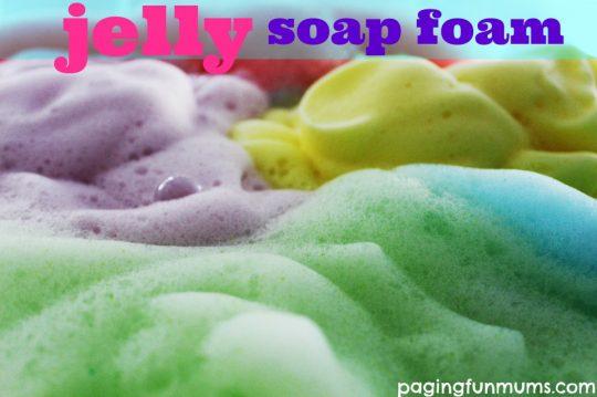 jelly-soap-foam