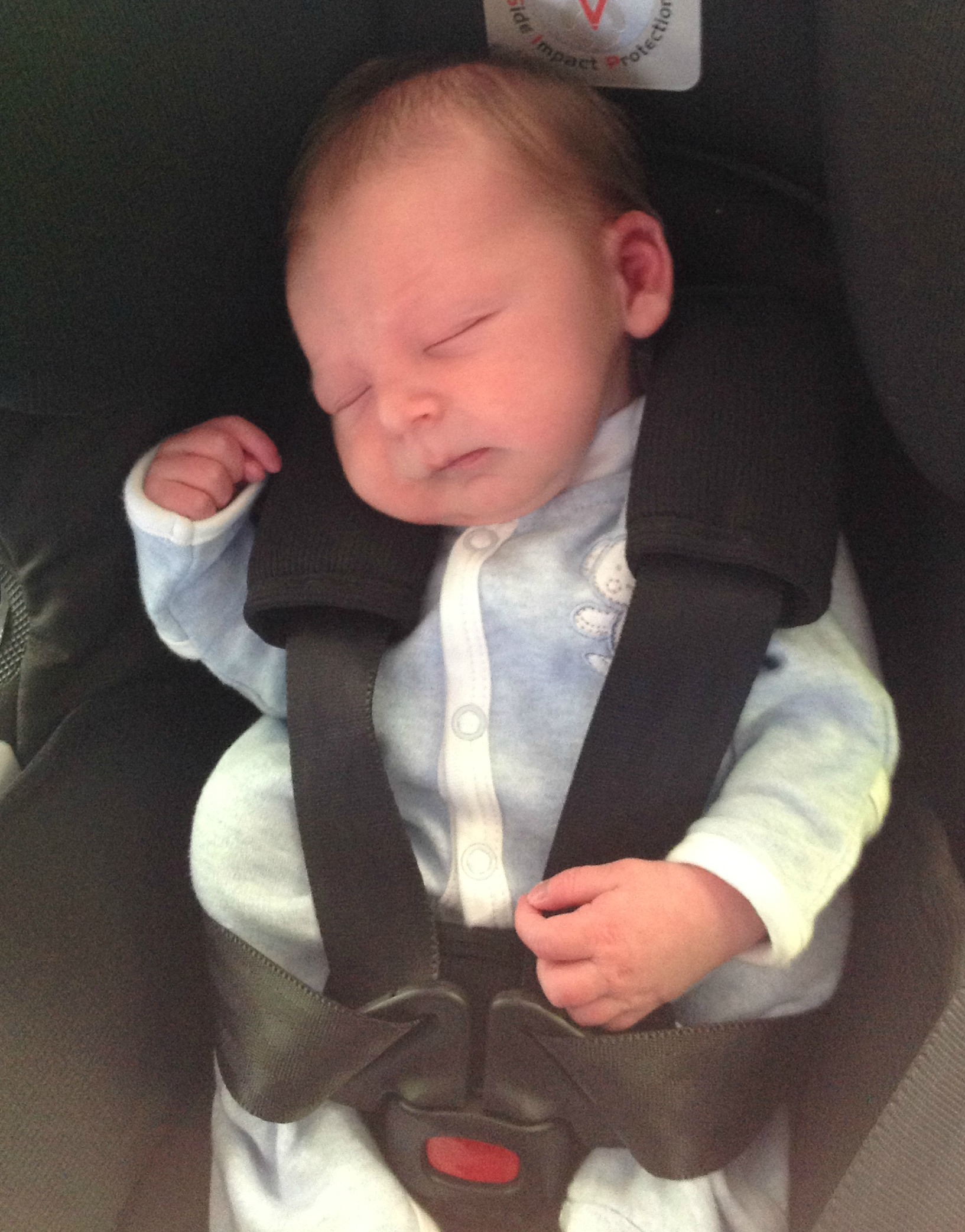 my baby nearly died in his car seat