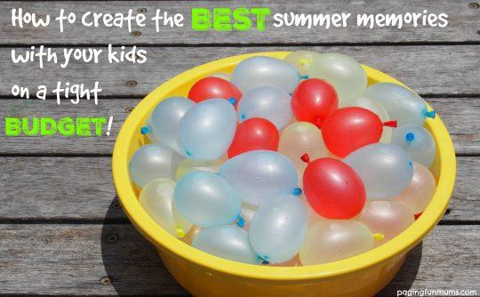 Love these FUN summer ideas!