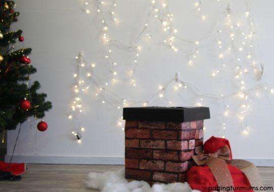 DIY Christmas themed photo booth!
