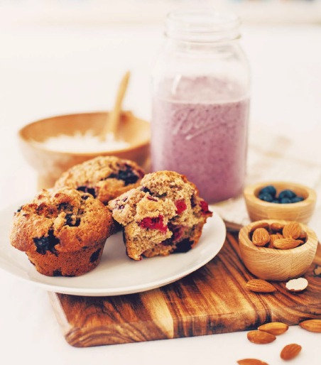 Berry Muffins from the NEW Weet-Bix recipe book!