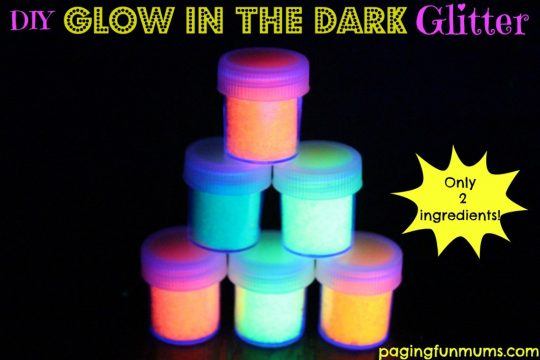 Glow-in-the-dark-glitter
