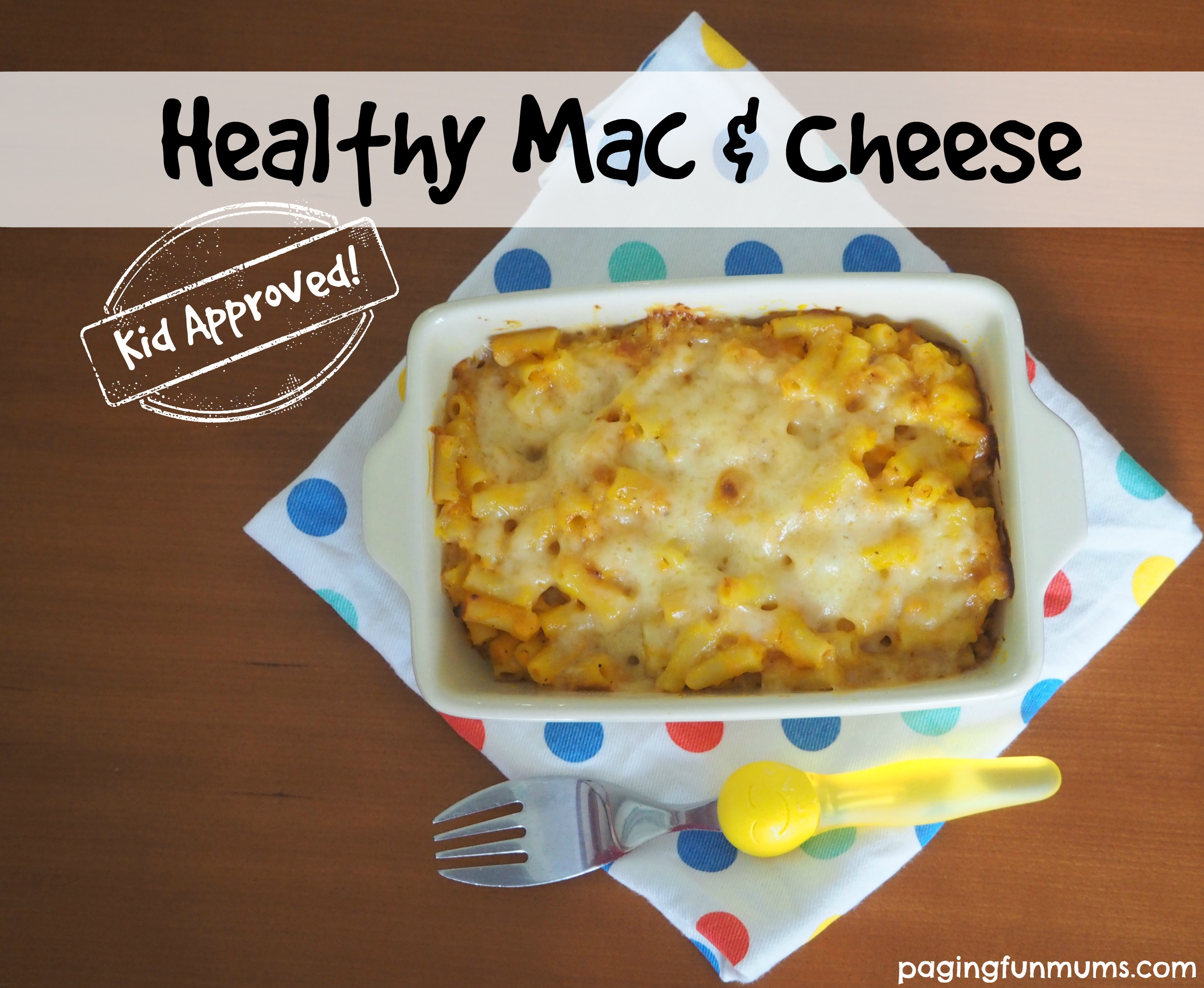 Healthy Mac & Cheese – two ways!