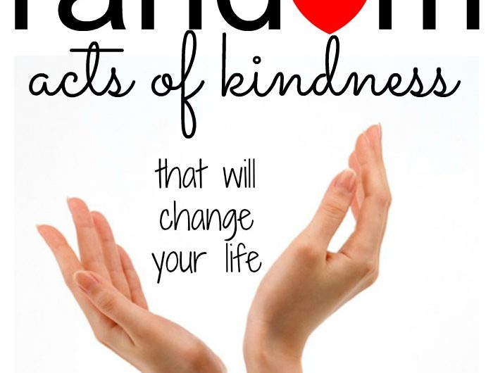 50 Random Acts of Kindness that will change your life!