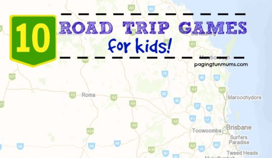 10 Road Trip Games the whole family will LOVE!