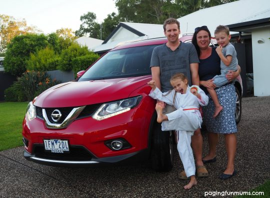 Nissan X-TRAIL Family Review