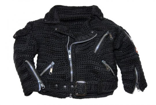 Biker Baby Crochet Pattern Jacket