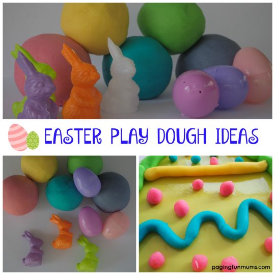 Easter Play Dough Ideas