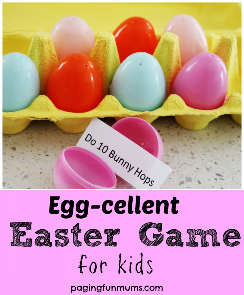 Words That Glow In Dark >> Egg-cellent Easter Game for Kids - Paging Fun Mums