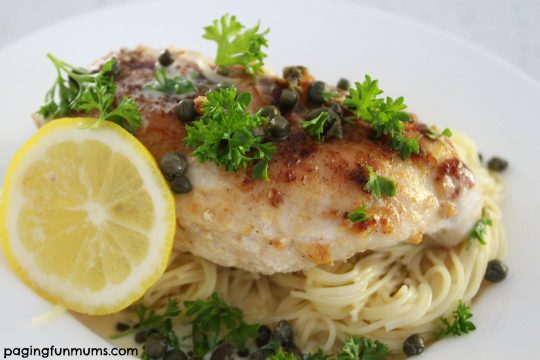 One Pot Creamy Lemon Chicken Piccata yummy