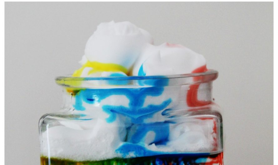 Rainbow Rain Clouds – Science Experiment for Kids