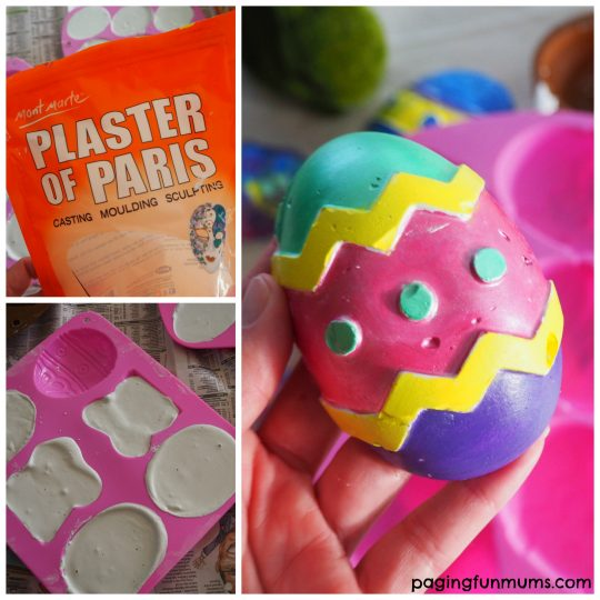 Use cheap silicone cake moulds to make your own Pick'n'Paint Easter projects!