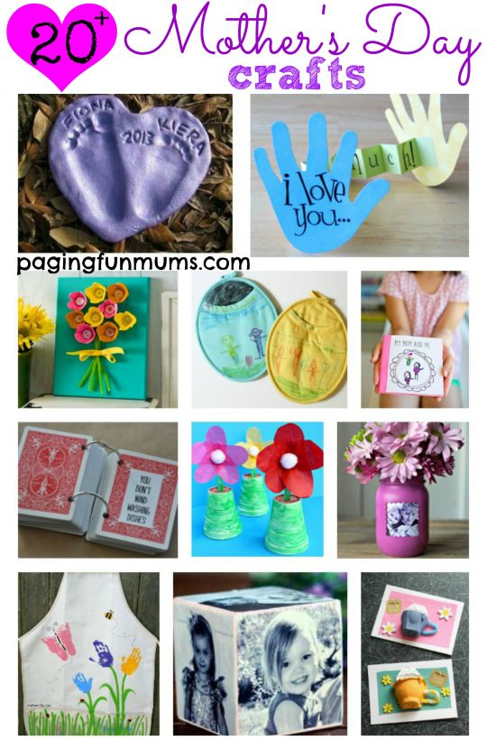 20 + Mother's Day Crafts