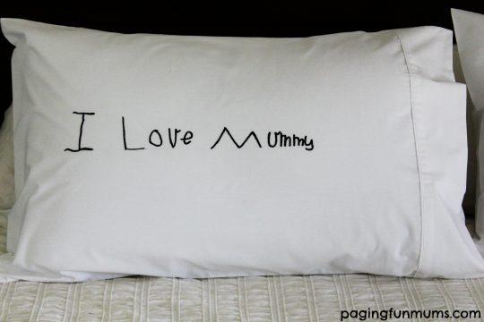 I Love Mummy Personalised Pillowcase
