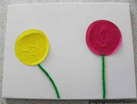 Cupcake Liner Canvas Step 2
