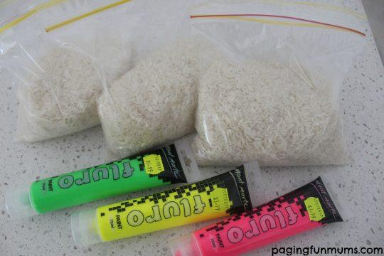 GITD Rainbow Foam Ingredients
