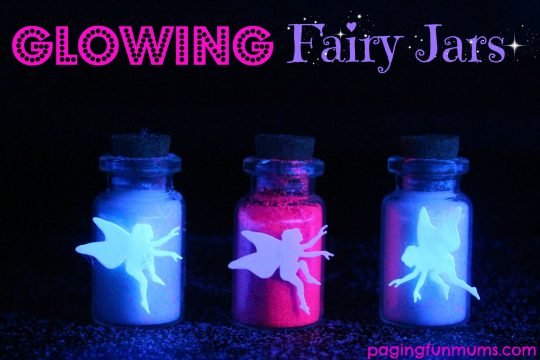 Glowing Fairy Jars