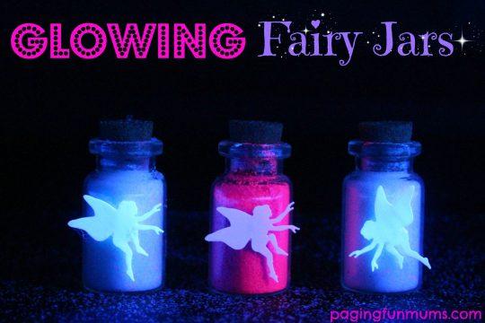 Glowing Fairy Jars