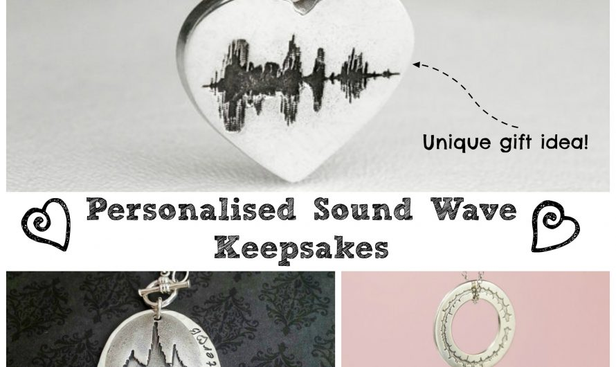 Sound Wave Keepsakes