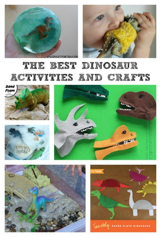 10 of the BEST Dinosaur Activities and Crafts around!