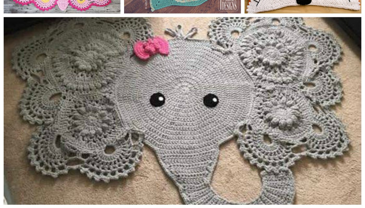 Clever Crochet Throw Rugs - Paging Fun Mums