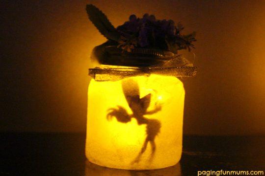 Adorable DIY Fairy Jar Night Light